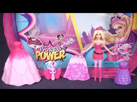 Barbie in Princess Power Small Doll from Mattel