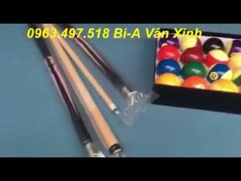 Bán bàn Bi A tại Thanh Hóa, bán phụ kiện Bi A tại Thanh Hóa, mua bàn bi a