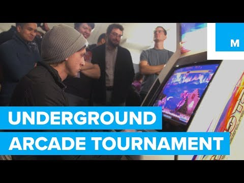 The Underground Tournament for Old-School Arcade Games - No Playing Field