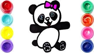 Como Dibujar Un Oso Panda Kawaii