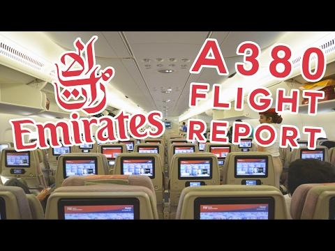 ✈ (Flight Report) Emirates A380 Economy - Kuwait to Mumbai via Dubai (HD)