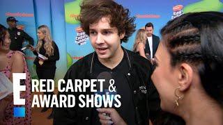 YouTuber David Dobrik Spills on Kylie Jenner Collaboration | E! Red Carpet & Award Shows Video