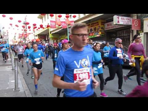 Chinese New Year Run 2018 Chinatown San Francisco California