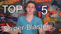 Top 5 Sniper Nerf Blaster | Magicbiber [deutsch]