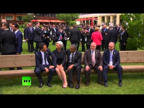 RAW: Obama ignores Iraqi PM at G7 summit?
