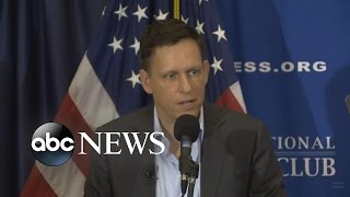 Peter Thiel Explains Trump Support
