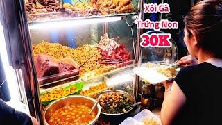 Xe xôi gà trứng non bán thâu đêm suốt sáng hơn 30 năm ở Sài Gòn | Saigon Travel
