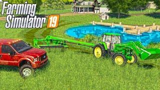 2000'S HAYING SEASON HAS STARTED   (ROLEPLAY) FARMING SIMULATOR 2019