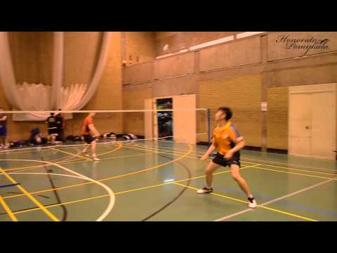 Aston University vs. University of Derby badminton game highlights