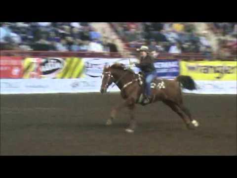 First Frontier Circuit Finals Barrel Racing Robin Weaver 2011
