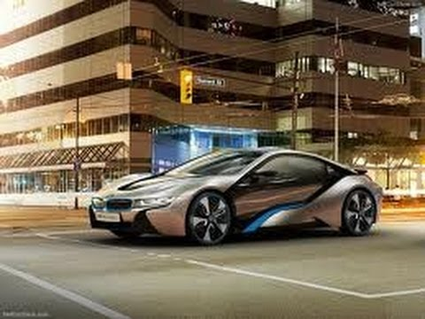 Bmw i8 FIRST DRIFT (in New York)
