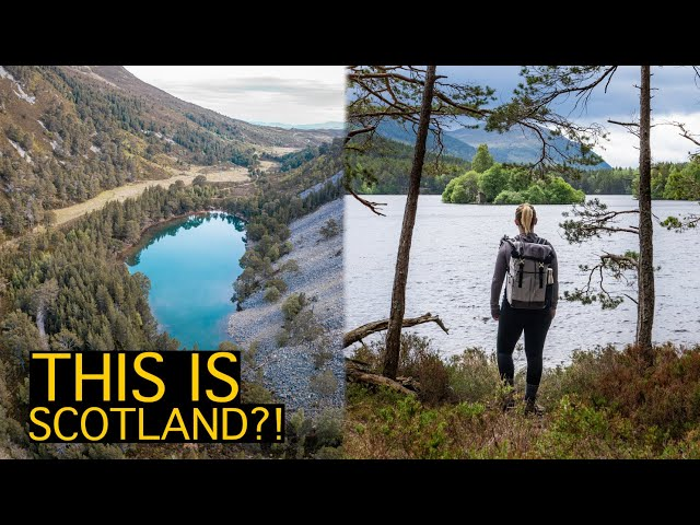 AVIEMORE DIGITAL DETOX (castles, hiking, and LOTS of wild swims)