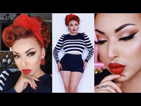 How To Look Like A Pinup Doll | GET READY WITH ME thumbnail