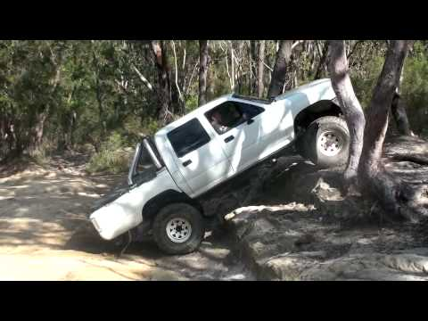 Solid Axle Toyota Hilux With X Flex Pro Rock Lift Kit