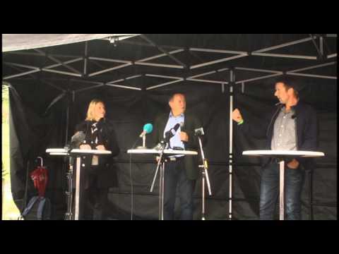 Agrisjå 2014 Listhaug og Bartnes i duell
