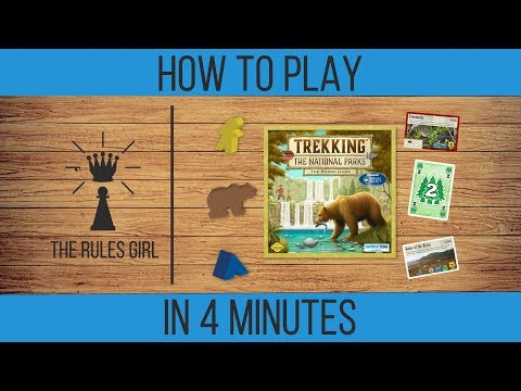 How to Play Trekking the National Parks in 4 Minutes - The Rules Girl