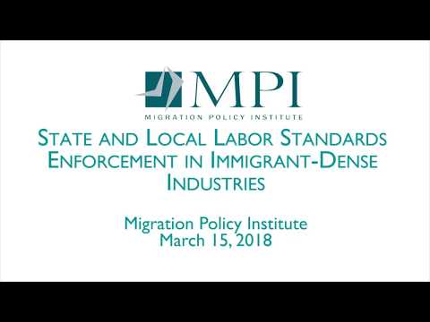State and Local Labor Standards Enforcement in Immigrant Dense Industries