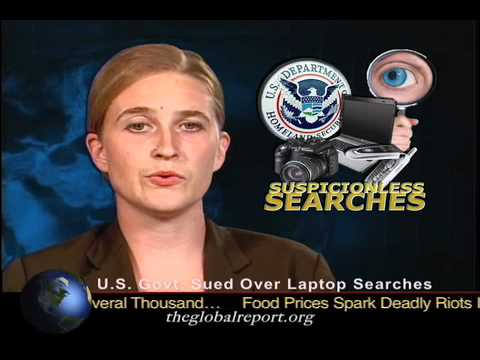 U.S. Govt. Sued Over Laptop Searches