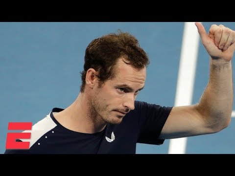 Andy Murray comes up short in potential Aussie Open farewell | 2019 Australian Open Highlights