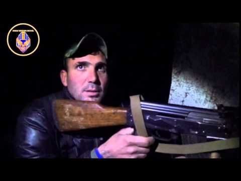 [2] Reportage with MFS fighters during a night guard in Khabour region.