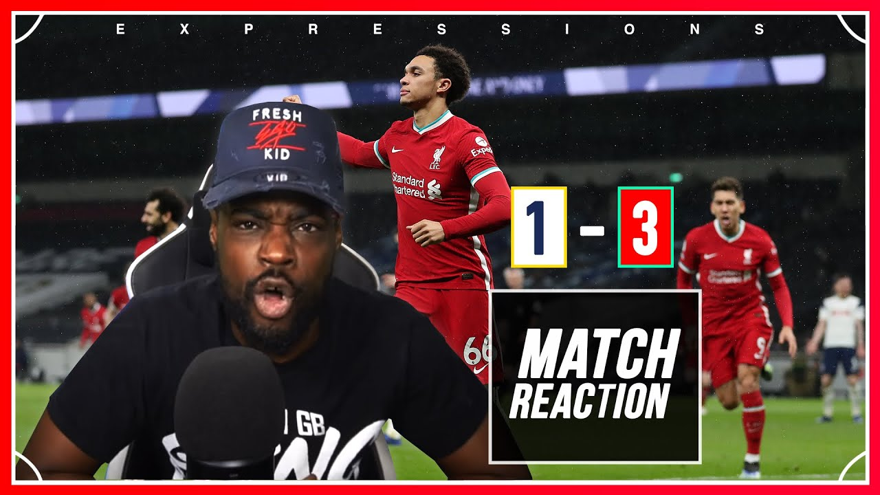 Download IM FUMING, MISTAKE AFTER MISTAKE!!  Tottenham (1) vs Liverpool (3) EXPRESSIONS