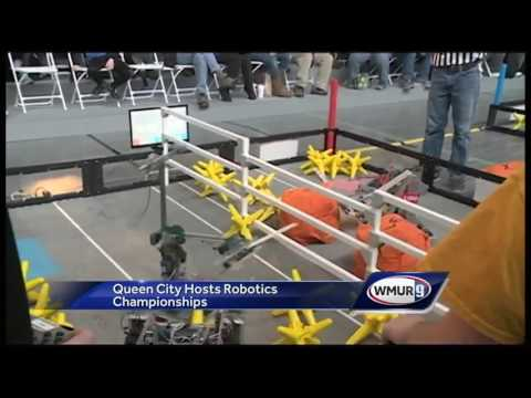 Students square off in robotics championships