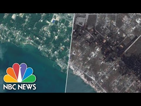 Satellite Images, Before And After Dorian, Reveal Extent Of Destruction In Bahamas | NBC News