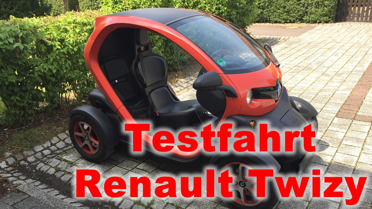 testfahrt renault twizy probefahrt elektro auto deutsch. Black Bedroom Furniture Sets. Home Design Ideas