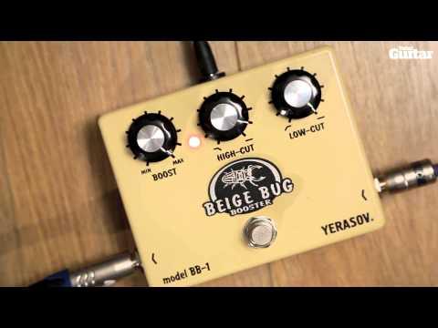 Yerasov Beige Bug BB-1 guitar effects pedal demo