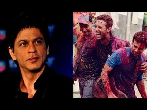 Shahrukh Khan joins Aamir Khan for the Coldplay concert – are we excited???