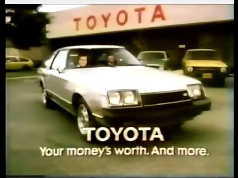 Toyota Celica You Asked For It Commercial 1978