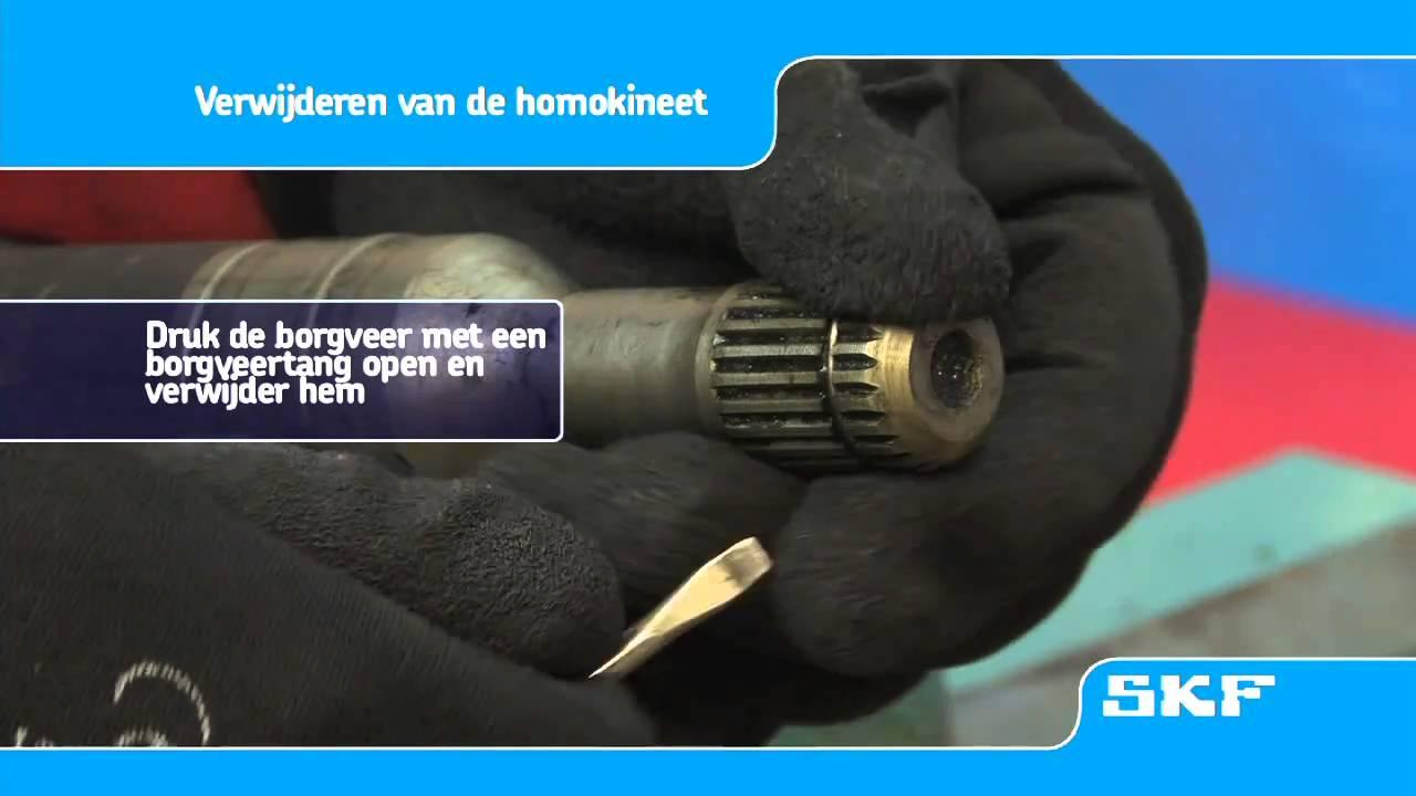 Skf Montageprocedure Van De Nieuwe Homokineet Vkja 5339