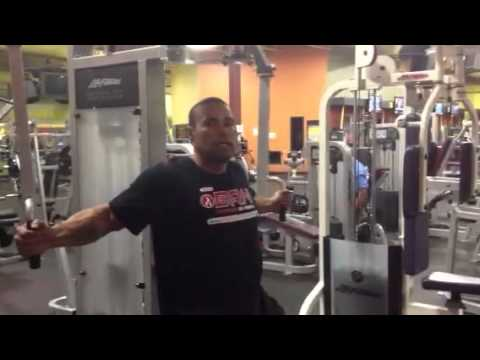LevroneReport.Com • 2013 Transformation Workout 13 Chest Shoulders Tricepts