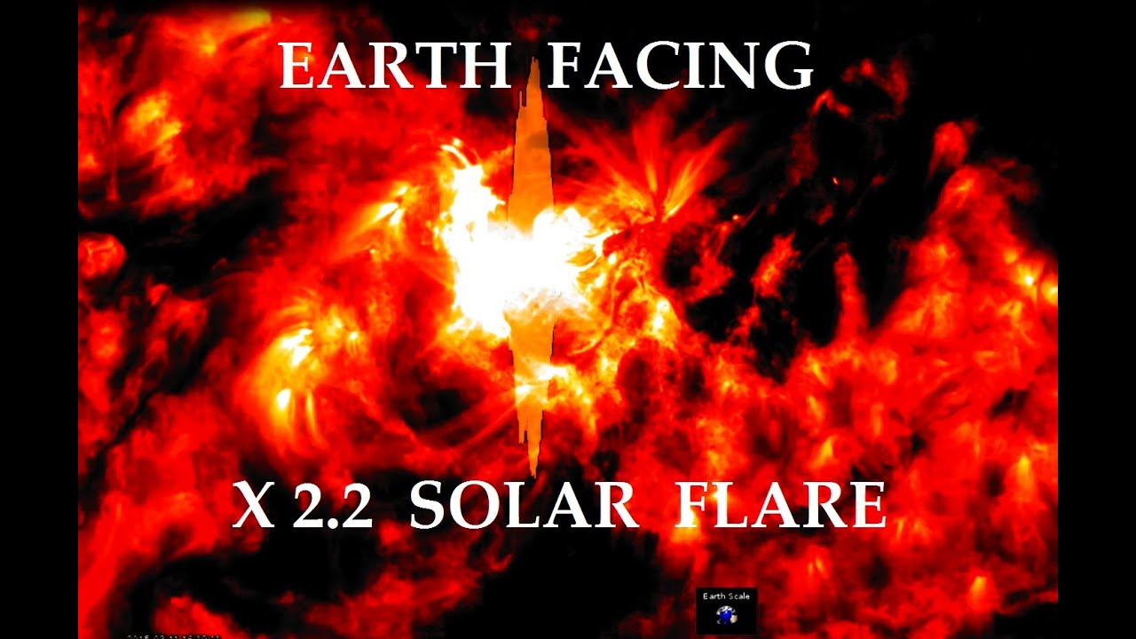 3/15/2015 — X2 2 solar flare ejection hits Earth — SEEN ON