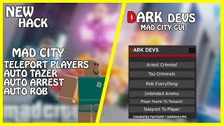 [NEW] Roblox Dark Devs Gui | Auto Arrest/Auto Tazer/Auto Rob/TP to Players/And More | [FREE]