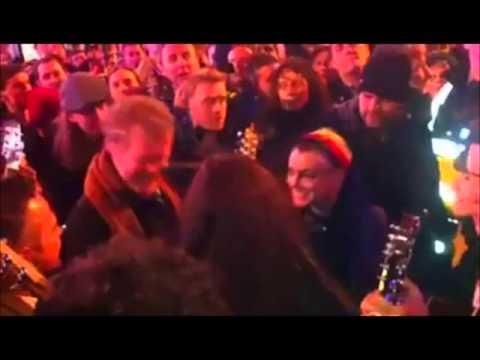 Take a Load off Annie.. - Glen Hansard & Magda Davitt (FKA Sinéad O'Connor) (GraftonSt, Dec24, 2012)