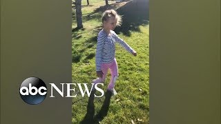 Watch the pure joy of a girl with cerebral palsy take some of her first steps