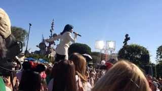 Demi lovato live at disneyland -