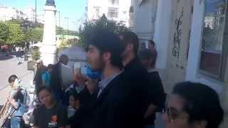 """الرفيق """"Nadhem hagii"""" في اليوم العالمي لمناهضة الامبريالية, عن اتحاد الشباب الماركسي اللينيني"""