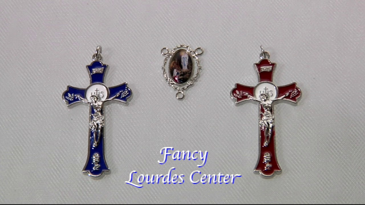Imitation Rhodium Rosary Sets For Rosary Makers Youtube