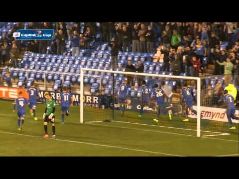 Shrewsbury Town 1-0 Norwich City – Capital One Cup 2014/15