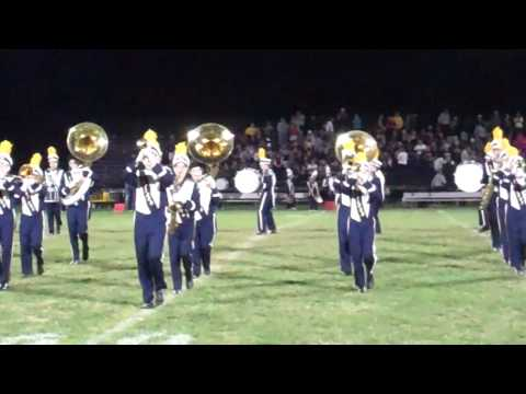 Kirtland High School Marching Band Performs Carry On Wayward Son