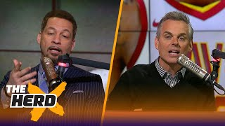 Chris Broussard on Ty Lue's leave of absence, OKC's 6-game winning streak | THE HERD