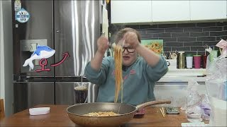 [I Live Alone] 나 혼자 산다 - Lee Gook Joo, to make Spaghetti pizza, a great success  20160108