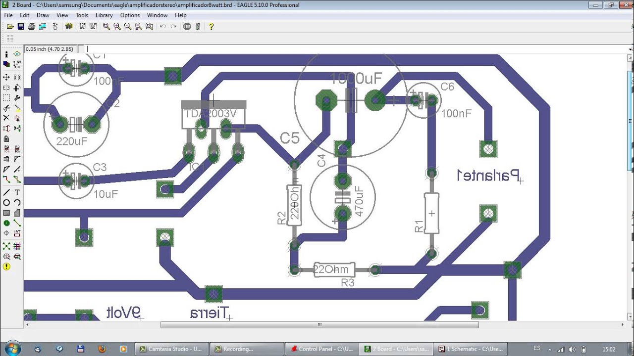 how to use eagle pcb software