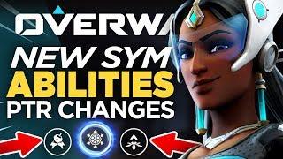 NEW Symmetra Quick Tips! PTR Role Queue & Social Changes - Overwatch