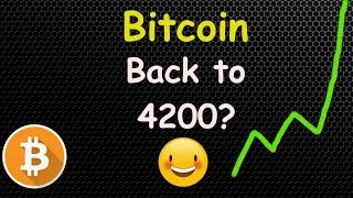 BITCOIN Back To 4200? Let's Talk! 🔴 LIVE