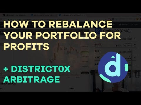 How To Rebalance Your Crypto Portfolio + NEO Overtaking BTC + District0x Arbitrage? CMTV Ep 23
