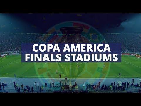 Copa América Finals Stadiums