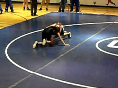 Dylan's First Wrestling Match- Eagleview Middle School vs Carmel Middle School